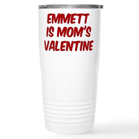 Emmetts is moms valentine Stainless Steel Travel M