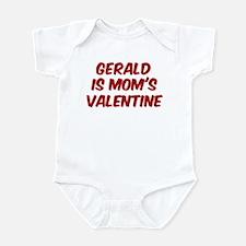 Geralds is moms valentine Onesie