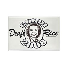 Draft Condi Rice 2008 Rectangle Magnet