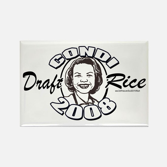 Draft Condi Rice 2008 Rectangle Magnet