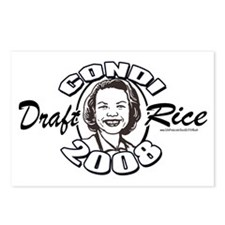 Draft Condi Rice 2008 Postcards (Package of 8)
