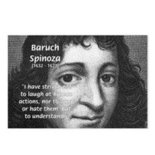 Philosopher Baruch Spinoza Postcards (Package of 8