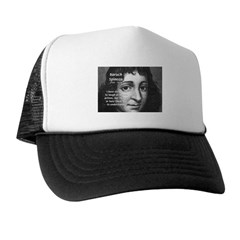 Philosopher Baruch Spinoza Trucker Hat
