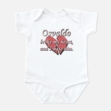 Osvaldo broke my heart and I hate him Infant Bodys