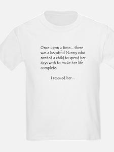 THE STORY OF NANNY Kids T-Shirt