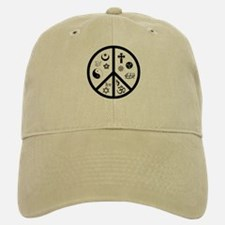 Peaceful Coexistence Baseball Baseball Cap