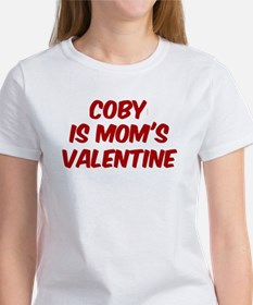 Cobys is moms valentine Women's T-Shirt