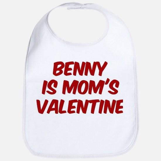 Bennys is moms valentine Bib