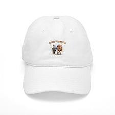 Steer Wrestler Baseball Cap