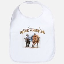 Steer Wrestler Bib
