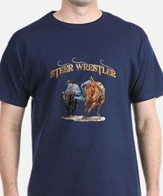 Steer Wrestler T-Shirt
