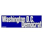 Washington D.C. Democrat bumper sticker