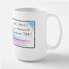Chaosbunny Mug- No Teamwork without Tea