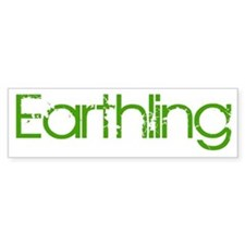 Earthling Bumper Bumper Sticker