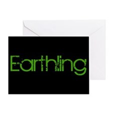 Earthling Greeting Card