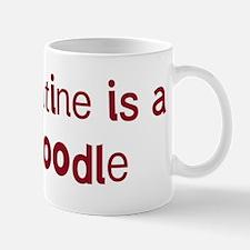 Toy Poodle valentine Mug