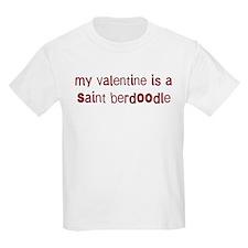 Saint Berdoodle valentine T-Shirt