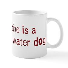 Portuguese Water Dog valentin Mug