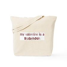 Stabyhoun valentine Tote Bag
