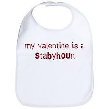 Stabyhoun valentine Bib