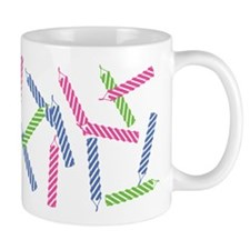 Scattered Birthday Candles Mug