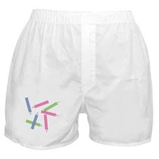 Scattered Birthday Candles Boxer Shorts