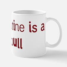 Pit Bull valentine Mug
