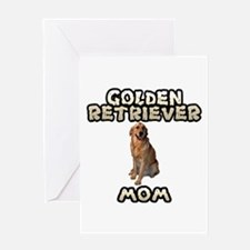 Golden Retriever Mom Greeting Card