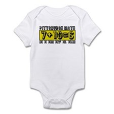 Pittsburgh Math Infant Bodysuit