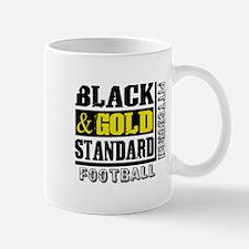 Black and Gold Standard Mug
