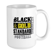 Black and Gold Standard Mug