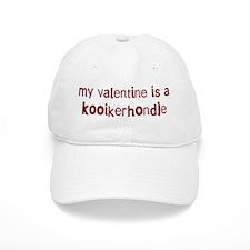 Kooikerhondje valentine Baseball Cap