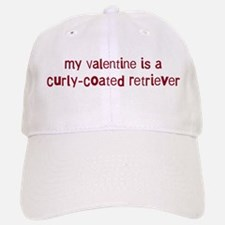 Curly-Coated Retriever valent Baseball Baseball Cap