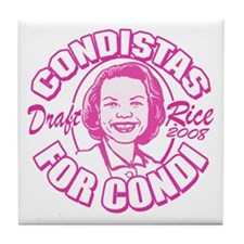 Condistas for Condi Pink Tile Coaster