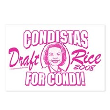 Condistas for Condi Pink Postcards (Package of 8)