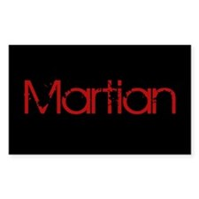 Martian Rectangle Decal