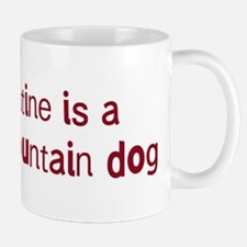 Bernese Mountain Dog valentin Mug