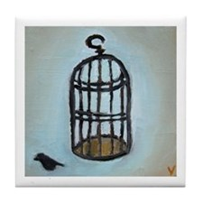 Birdcage Tile Coaster