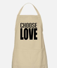 CHOOSE LOVE BBQ Apron