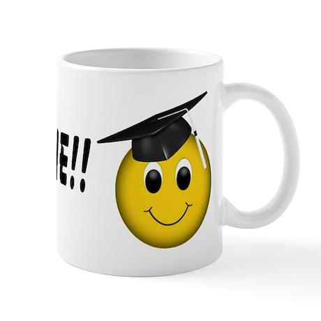 GraduationSmiley Face Mug
