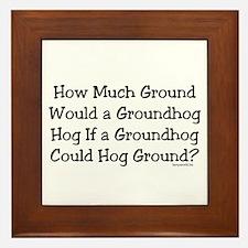 Groundhog Framed Tile
