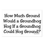 Groundhog Postcards (Package of 8)