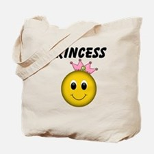 Smiley Princess Tote Bag