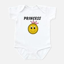 Smiley Princess Infant Bodysuit