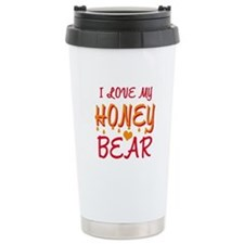 I LOVE MY HONEY BEAR Travel Mug