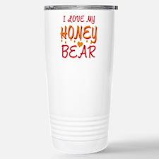 I LOVE MY HONEY BEAR Travel Mug