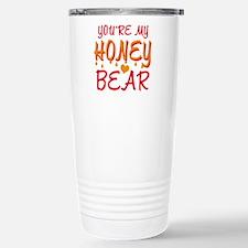 YOU'RE MY HONEY BEAR Travel Mug