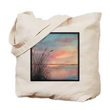 Sunrise Water View Tote Bag