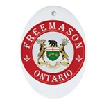 Ontario Mason Oval Ornament