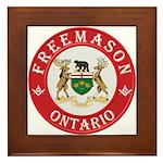 Ontario Mason Framed Tile
